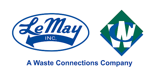 LeMay Inc. Waste Connections Company logo.